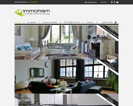 Immotram agence immobilière La Madeleine -...