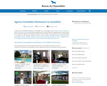 Agence immobilière Montastruc la Conseillère...