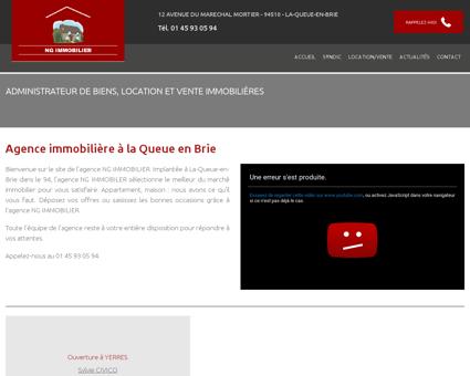 Syndic Pontault Combault - SARL NG...