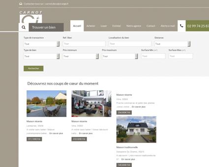 Carnot Immobilier - Agence Vitré (35) et...