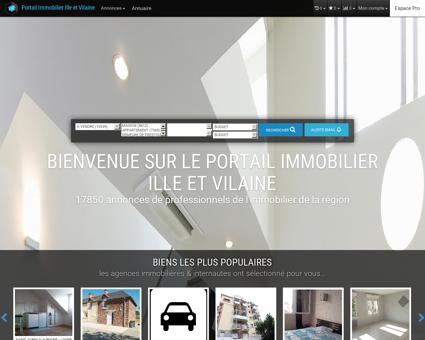 immobilier 35, Ille et Vilaine, Rennes, Fougeres,...