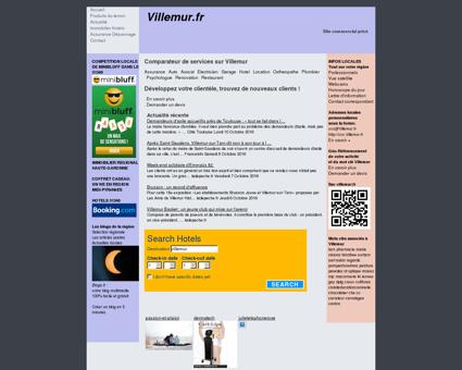 Site non officiel Villemur : votre guide sur...