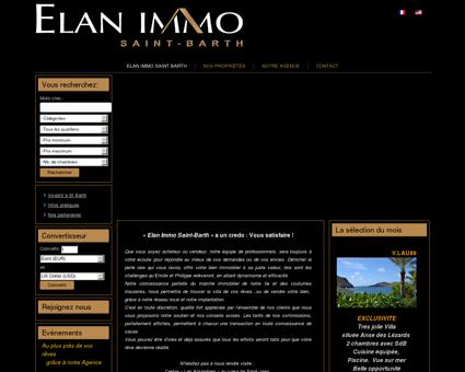 Agence immobilière saint barthelemy - ELAN...