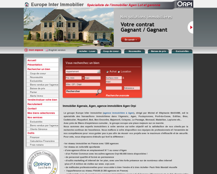 immobilier Agenais, agence immobiliere Agen...