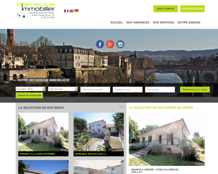 immobilier Villeneuve sur Lot, Pujols, Bias,...