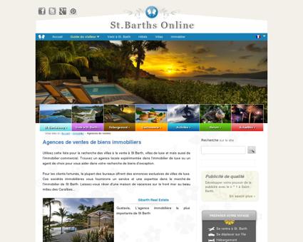 Agences immobilières | St Barths Online