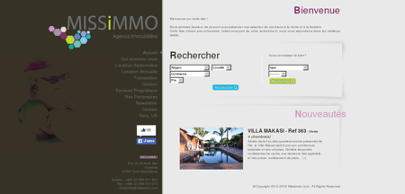 Missimmo - agence immobilière St...