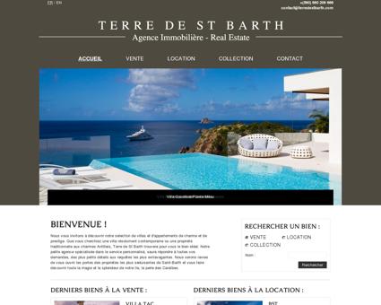 Terre de St Barth - Agence immobilière sur St...