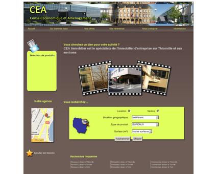 CEA - Immobilier d'Entreprise sur Thionville et...