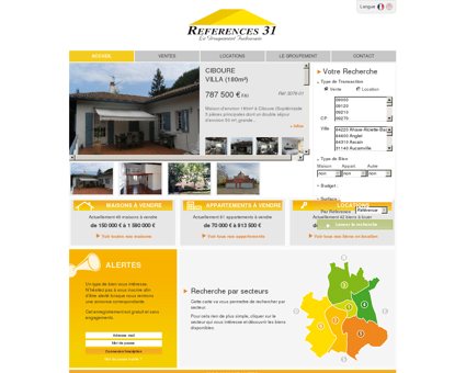 Immobilier Toulouse | Ventes et locations de...