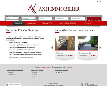 AXH Immobilier Illzach et environs