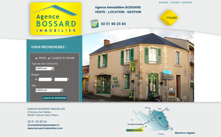 Bossard Immobilier agence immobilière...