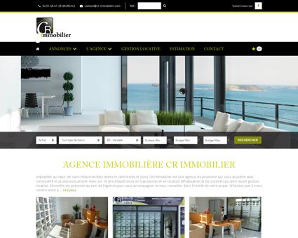 Agence immobilière CR IMMOBILIER à SAINT...