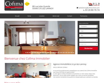 Agence immobilière LYS LEZ LANNOY : Cofima...