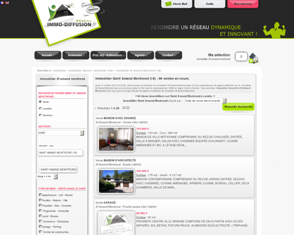 Immobilier Saint Amand Montrond : Immo...