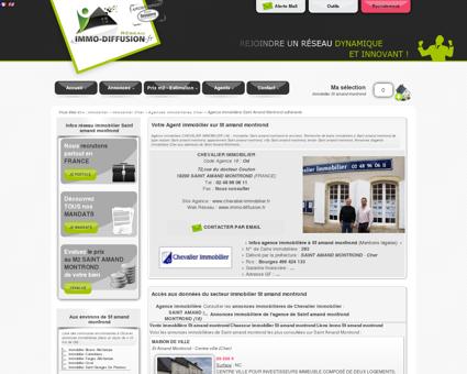 Votre Agent immobilier sur St amand montrond