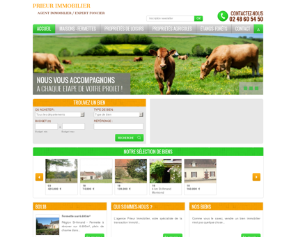Prieur Immobilier - Agence immobilière à...