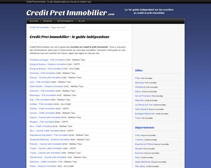 Credit Pret Immobilier : guide indépendant sur...