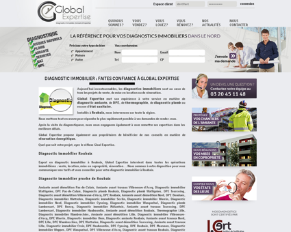 Diagnostic immobilier Roubaix 59100 | Global...