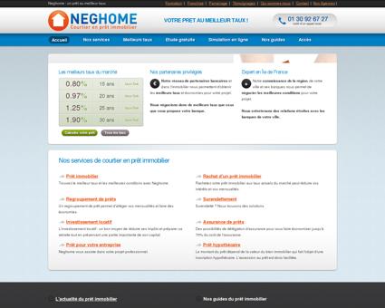 Neghome : un prêt au meilleur taux, un contact...