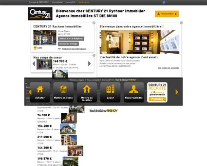 Agence immobilière ST DIE CENTURY 21...