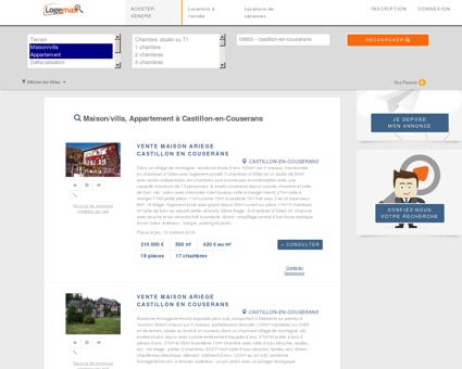 Achat et Vente Immobilier | Logemax.fr