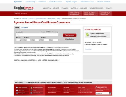 Agence immobilière Castillon-en-Couserans