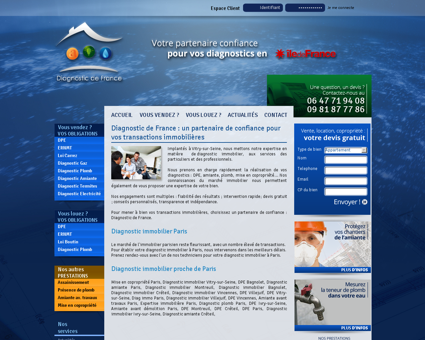 Diagnostic immobilier Paris 75000 |...