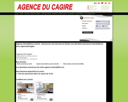 Agence immobilière Luchon : AGENCE DU...