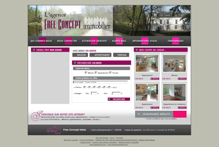 immobilier yerres FREE CONCEPT IMMO plus...