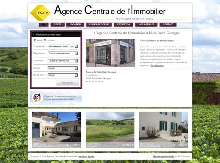 Agence Centrale de l'Immobilier - Nuits Saint...