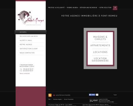 Achat, vente et location de biens sur Font...