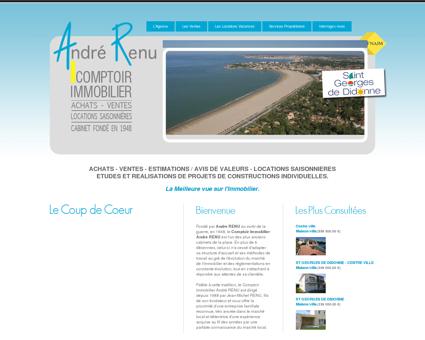 Comptoir immobilier André Renu, location et...