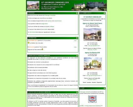 Site Officiel de Saint Georges Immobilier