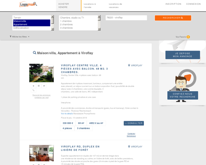 Immobilier viroflay - Tous types appartements et villas.