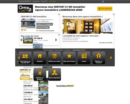 Agence immobilière LANNEMEZAN CENTURY...
