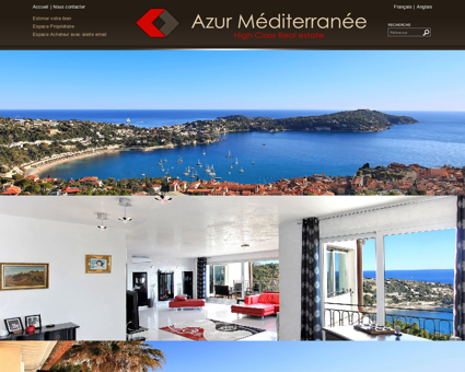 Agence immobiliere VILLEFRANCHE SUR MER,...
