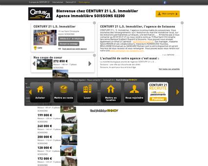 Agence immobilière SOISSONS CENTURY 21...