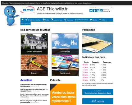 ACE Thionville.fr - Courtier Crédit et Assurance