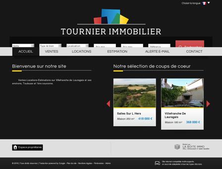 Tournier Immobilier Villefranche de Lauragais...