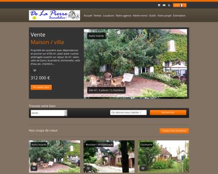 De La Pierre Immobilier