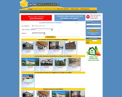 Immobilier entre particuliers en Belgique |...