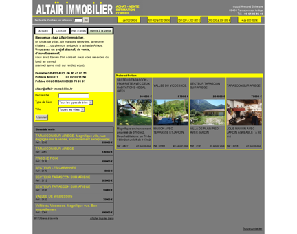 Altaïr Immobilier   Agence Immobilière à...