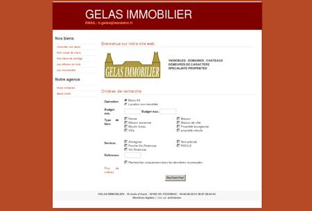L'agence Gelas Immobilier est heureuse de...