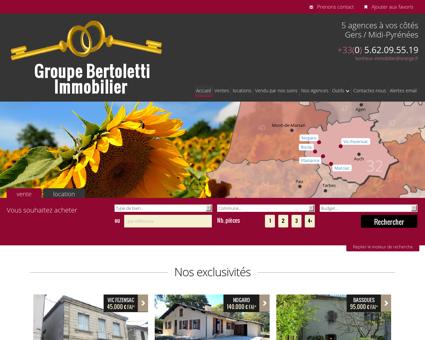 Immobilier Gers, vente maison, location...