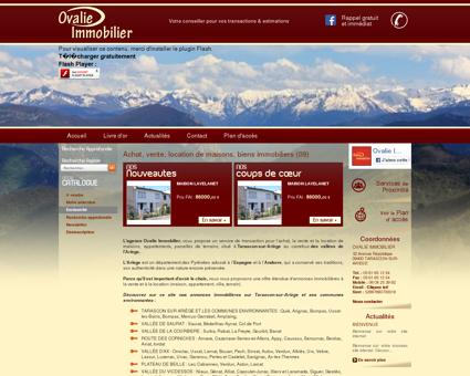 Nos services / Agence immobilière 09 / OVALIE...