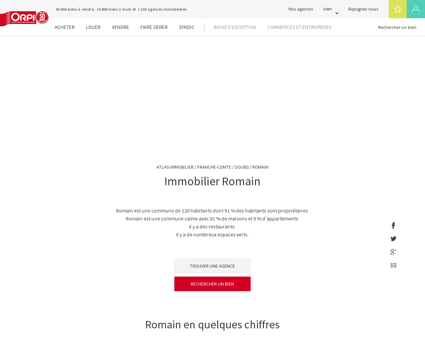 Immobilier Romain - Biens immobiliers...
