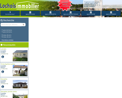 Accueil > - Lochois Immobilier, Agence...