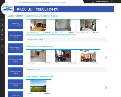 Immobilier Tinqueux (51430) - Toutes les...