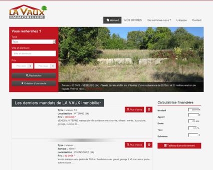 La Vaux Immobilier, achat, vente maison,...